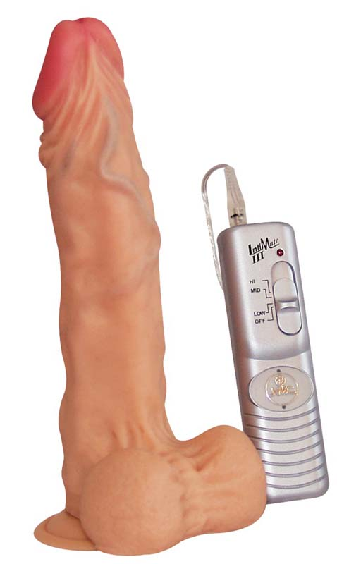 Image of Dildo vibrator levensecht blank